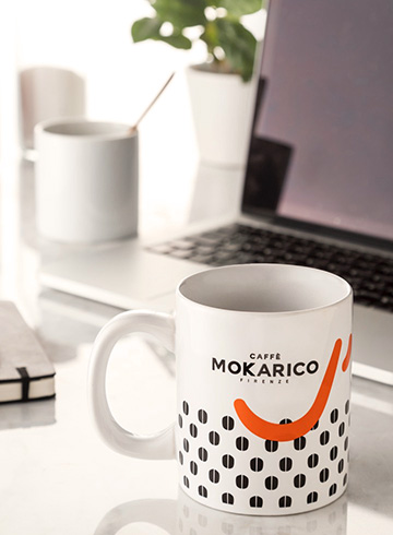 Mokarico italian coffee at home or office