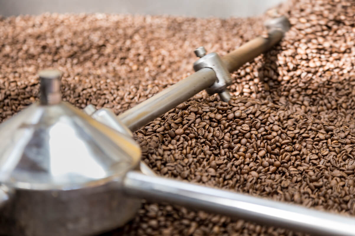 Mokarico coffee roasting